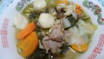 具だくさん栄養スープ